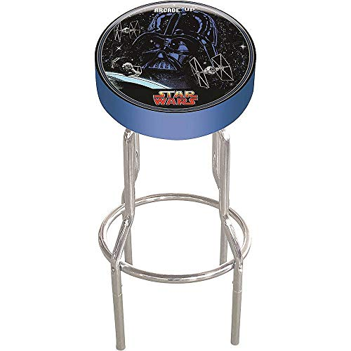 """Arcade1Up Arcade1Up Star Wars Adjustable Stool, 21.5"""" to 29.5"""" - Electronic Games;"""