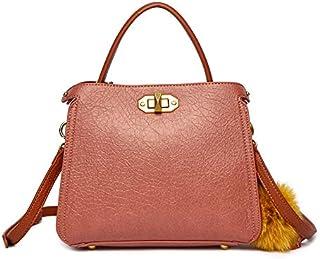 Zeneve London Satchels Bag For Women, Peach, 119183096141