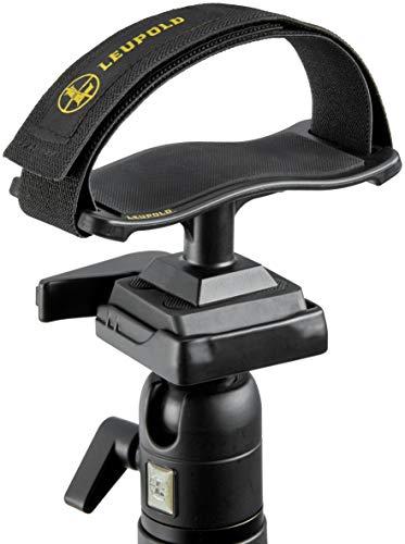 Leupold, Binocular Tripod Adapter Tray, Matte Black, Mount: 1/4-20