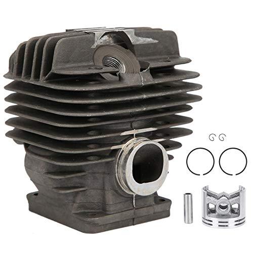 EVTSCAN, último kit de pistón de sello de aceite de cigüeñal de cilindro de 52mm para motosierra Stihl MS440 044, reemplazar 1128020 1227,1128 030 0406