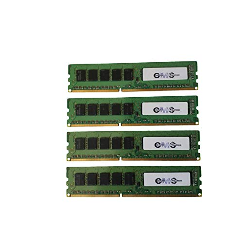 64GB (4X16GB) RAM Memory Compatible with Synology RackStation RS2818RP+ by CMS D31