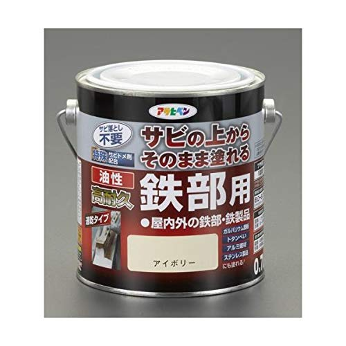 エスコ(ESCO) [油性] 錆止め塗料(黒) 1.6L EA942CG-132