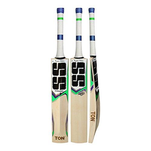 S+S SS Tonnen T20Legend handgepflückter Cricketschläger aus englischem Weidenholz ideal für Leder Ball–2018Edition Anti Scuff Tabelle und Tischtennisschläger-Hülle