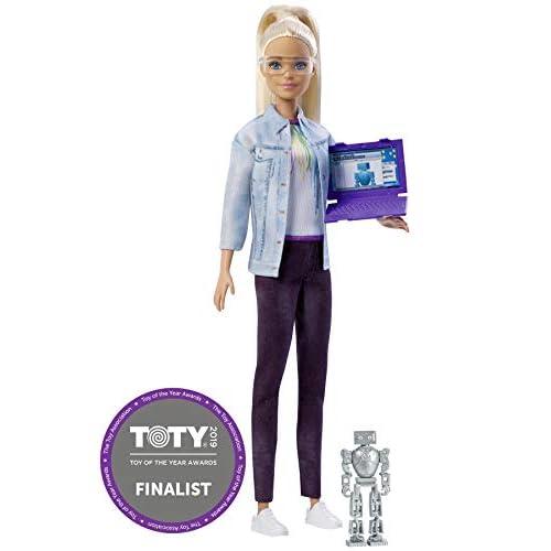 Barbie Bionda Ingegnere Robotico, 16 cm, FRM09