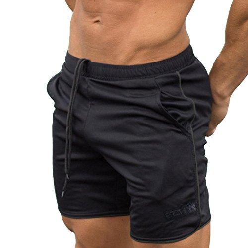 Kanpola Herren Badeshorts Badehose Beach-Shorts Freizeit-Hose Sport Boxershorts Shorts