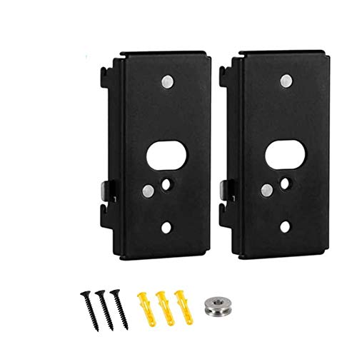 Bedycoon 2 Pack Replacement Wall Mount Bracket Compatiblewith Bose SlideConnect WB-50 - Black (UFS-20), Lifestyle 525 535 III,Lifestyle 600,soundtouch 300 soundtouch 520,CineMate 520,Wall Bracket