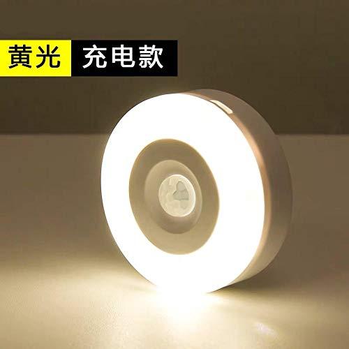 Nachtlampje stopcontact bewegingssensor inductielicht laden LED-lichtjes op stillicht bedlampje