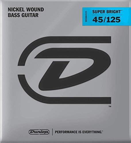 Jim Dunlop DBSBN45125 - Juego de cuerdas para bajo de níquel, 45-125
