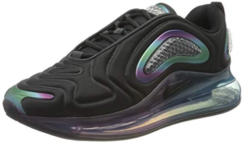 Nike Air MAX 720 20, Zapatillas para Correr Hombre, Dk Smoke Grey Black Black Mtlc Silver, 45 EU