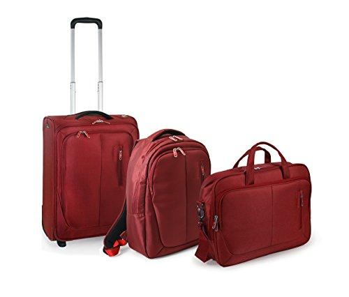 Roncato RV Smile Valigia, 156,783 litri, Nylon, Rosso