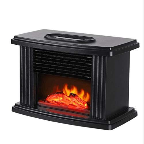 Caminetto elettrico del tipo di stufa tradizionale a pavimento di colore nero potenza massima 2000 W PURLINE CHE-150