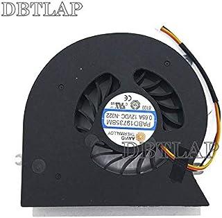 DBTLAP CPU ファン 用 MSI MS-1781 MS-1782 GT72 GT72S GT72VR 6RE 6RD 7RE 7RD Dominator Pro 冷却 ファン PABD19735BM 0.65A -N292