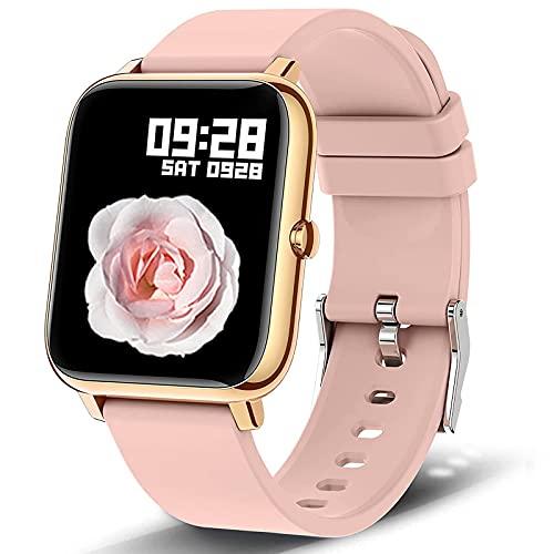 Smart Watch, Popglory 1.4 inch LCD Full...