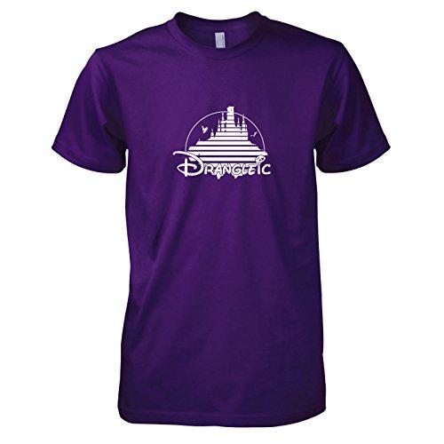 Texlab Drangleic-Herren T-Shirt Camiseta, Hombre, Morado, Small