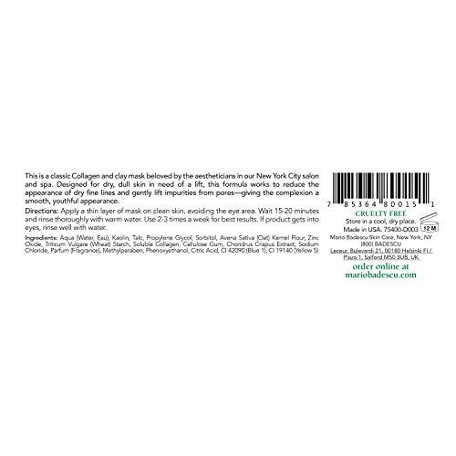 Mario Badescu Super Collagen Mask - For Combination/ Dry/ Sensitive Skin Types 59ml