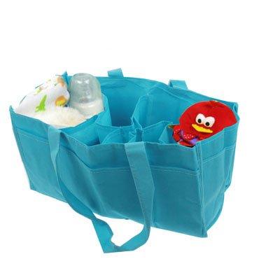 ZTH Sac à Main à Couches for Maman avec Deux Compartiments en Tissu Non tissé (Rose) (Color : Blue)