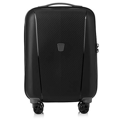 Tripp Black Ultimate Lite II Cabin 4 Wheel Suitcase