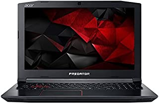 Acer Predator Helios PH315-51-74V4 FHD 15.6 Inch, 2.2Ghz Intel Core i7-8750H Hexa Core, 16GB RAM, 256GB SSD+1TB HDD, NVIDIA GeForce GTX 1060 VGA, Eng-KB, Windows 10, Black