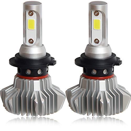 Colight LEDヘッドライト アメリカBridge Lux COBチップ搭載 一体式 角度調節可能 冷却ファンレス IP68防水...
