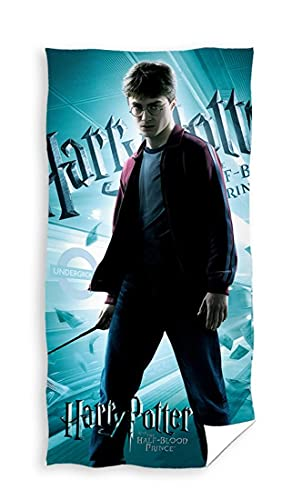 Toalla grande de algodón de Harry Potter, 70 x 140 cm