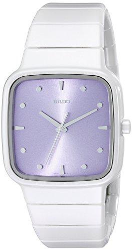 Rado Women's R28382342 R5.5 White Ceramic Watch with Link Bracelet