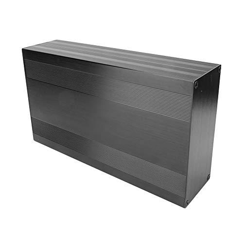 Caja de refrigeración de aluminio sólido Caja electrónica Instrumento de placa de...