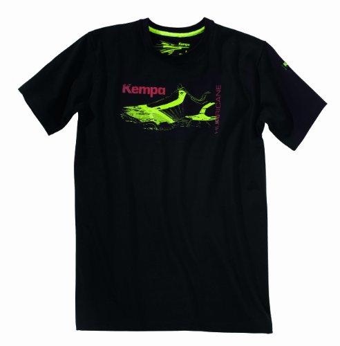 Kempa Hurricane T-Shirt, Schwarz, S