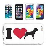 Reifen-Markt Carcasa para Samsung Galaxy S3 Mini, diseño de perro y perro