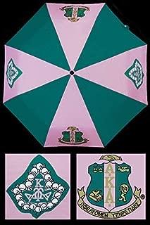 Alpha Kappa Alpha Sorority 30'' Wind Resistant Auto Open Umbrella