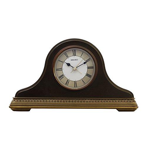Seiko Wooden Alarm Clock Qxe017B