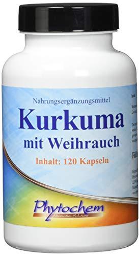 KURKUMA und WEIHRAUCH   hochkonzentriere Extrakt   120 Kapseln   Premium Qualität aus Deutschland