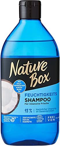 Nature Box Feuchtigkeits-Shampoo Kokosnuss-Öl, 385 ml NSCO2