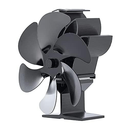 MagiDeal Motore Muto del Ventilatore per Stufa a Legna a 6 Lame per Legna/bruciatore a Legna/Ventilatore Non Elettrico per Camino