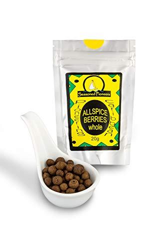 Seasoned Pioneers - Allspice - Pimienta de Jamaica en Granos - Paquete Resellable (41g)