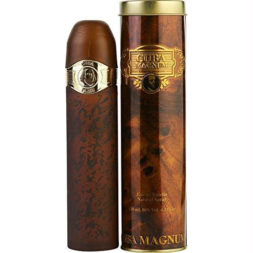 Parfums de France, Cuba Magnum, Eau de Toilette spray da uomo, 130 ml