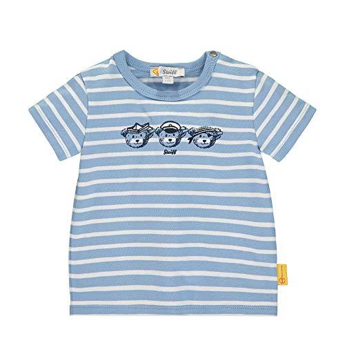Steiff Jungen T-Shirt, Blau (Forever Blue 6027), 50 (Herstellergröße: 050)