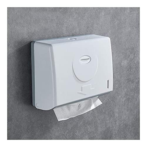 HYLK Dispensador de Toallas de Papel Comercial Dispensadores de Toallas de Papel, Dispensadores de Papel higiénico comerciales Soporte para Toallas de Papel de Montaje en Pared Dispensador de TOA