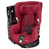 Bébé Confort Axiss Silla infantil giratoria para coche del grupo 1, ajuste extraseguro, reclinable, 9 meses - 4 años, 9 - 18 kg, rojo (Robin Red)