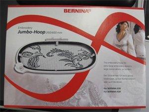 Stickrahmen JUMBO-HOOP 260 x 400 mm für BERNINA 830/750/780