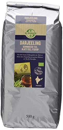 El Puente Darjeeling Tee TGFOP, 1er Pack (1 x 500 g Packung)