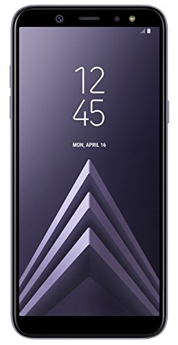 Samsung Galaxy A6 32 GB Single UK SIM-Free Smartphone - Orchid Grey- UK Version