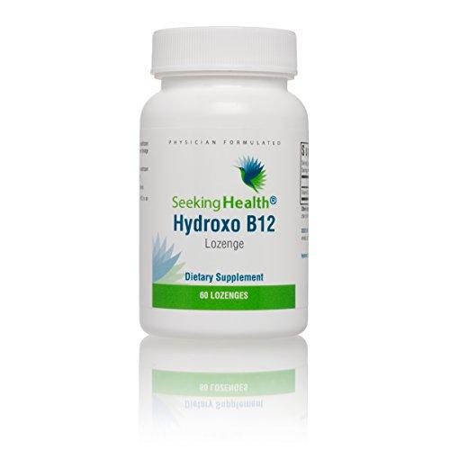 Seeking Health | Hydroxo B12 Vitamin | Vitamin B12 Supplement | B12 Hydroxocobalamin | 60 Lozenges