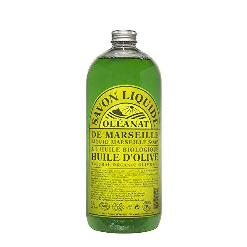 Oléanat Savon Liquide Bio à l'Huile d'Olive 1 l