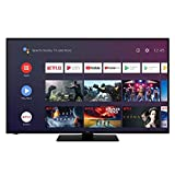 Hitachi 43FK5HAK5750 - Televisor LED (43 pulgadas, 108 cm, Ultra 4K, Android Smart TV: Netflix, Youtube,Prime/WIFI, 4 HDMI/2 USB)