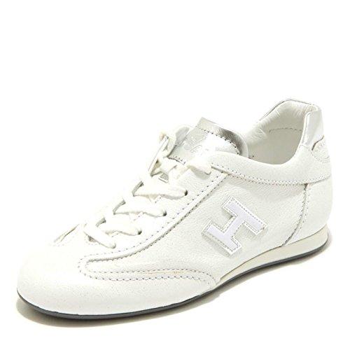 Hogan 3162G Sneaker Bimba Junior Olympia Slash H Flock Scarpa Shoes Kids [32]