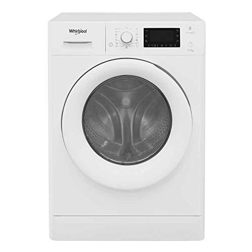 Whirlpool FreshCare FWDD117168WUK Freestanding Washer Dryer, 11/7kg, 1600rpm, White