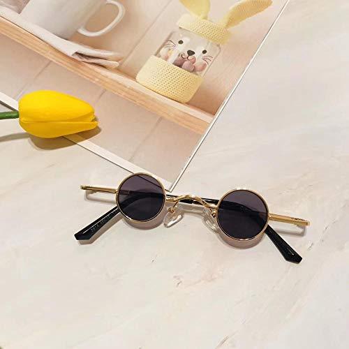 Diseñador de Moda Niños Gafas de sol Niños Metal Pequeño Marco Redondo Gafas de Sol Para Niñas Niños Lentille De Couleur