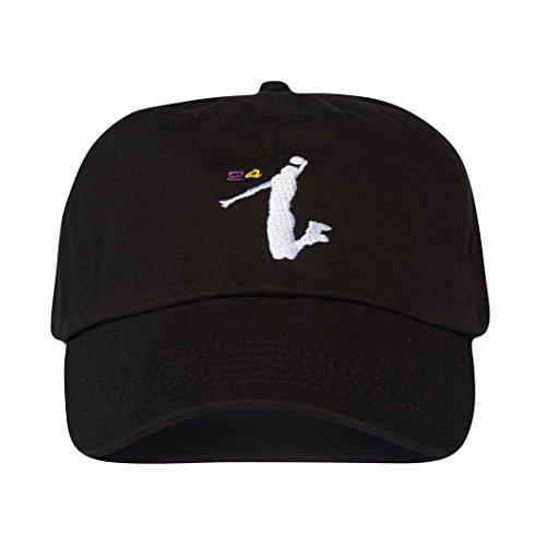 Uptop Studios Kobe Bryant 24 Lakers Hat - Black