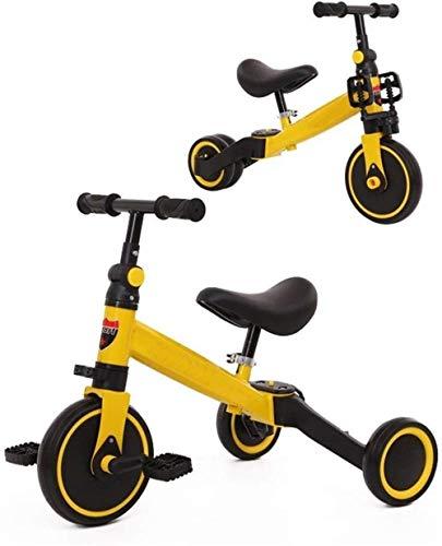 Poppenwagen kinderschommel trikes kinderen tricycles kleine kinderen fiets kleinkind 2 in 1 trike tricycles buiten baby-fiets tricycle kinderen 1-3-6 jaar babyartikelen