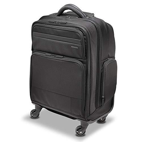 Kensington Laptop Roller Case - Contour 2.0 Pro Overnight Laptop Spinner for up to 17' Inch Laptops, Wheeled Laptop Overnight Bag, Ideal Cabin Bag for Men & Women (K60384WW), Black